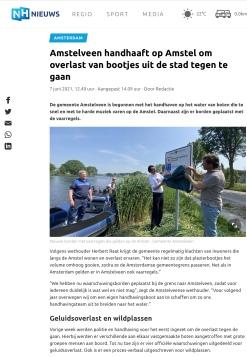 7-6-2021-NHNieuws; Herbert Raat over handhaving op de Amstel in Amstelveen
