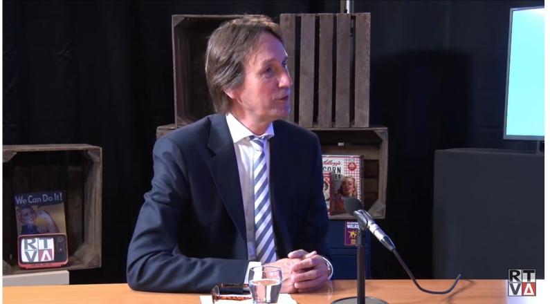 2021; Herbert Raat te gast bij RTVA bij het programma 1Amstelveen
