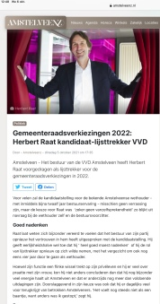 5-10-2021-Amstelveenz: Claudio Mancinelli em Herbert Raat over lijstrekkerschap VVD Amstelveen 1 van 2