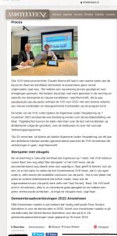 5-10-2021-Amstelveenz: Claudio Mancinelli em Herbert Raat over lijstrekkerschap VVD Amstelveen 2 van 2