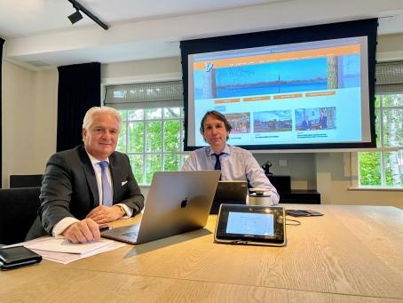 2021-Claudio Mancinelli-Herbert Raat Verkiezingen 2022-De Bajes in Amstelveen